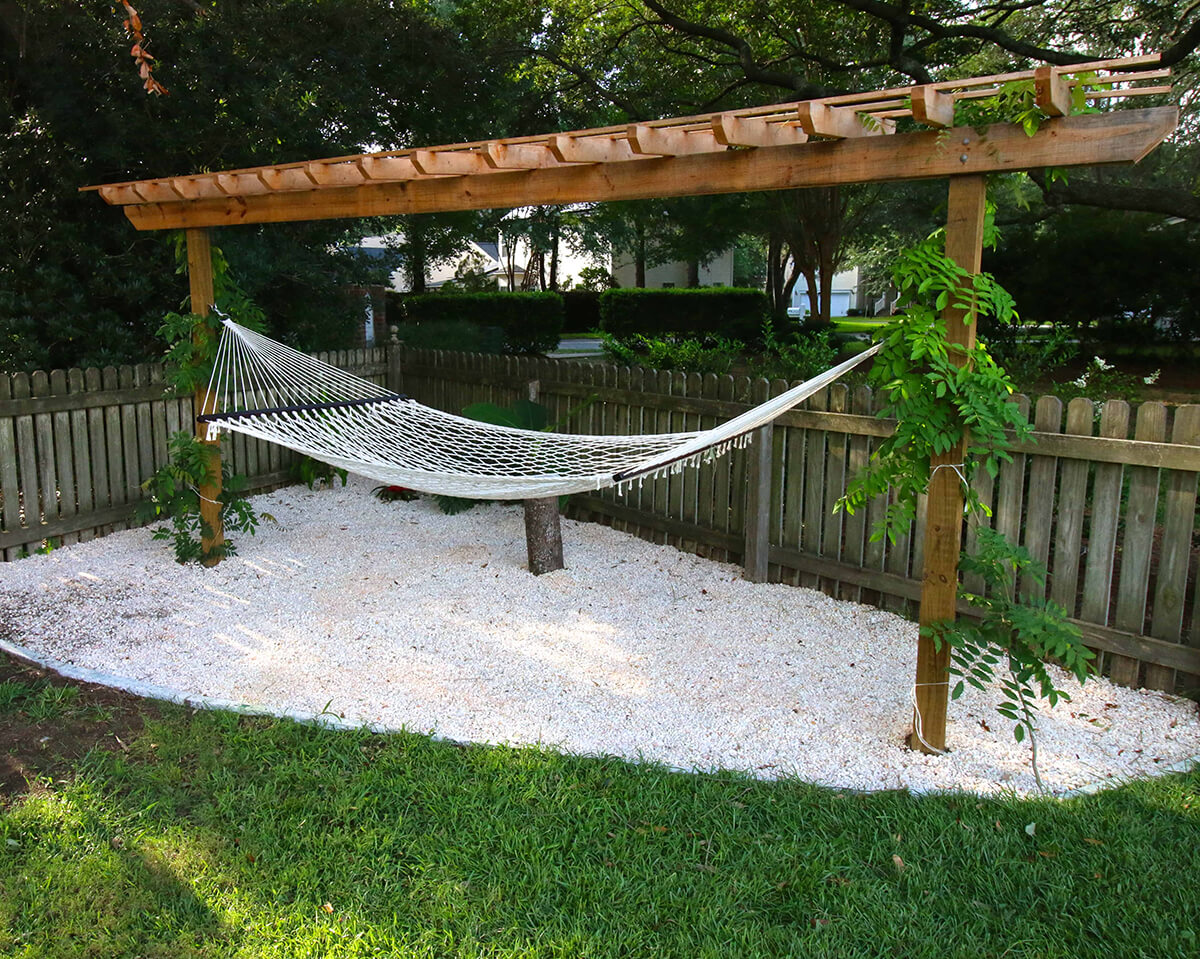 Beach Vibe Relaxing Garden Space
