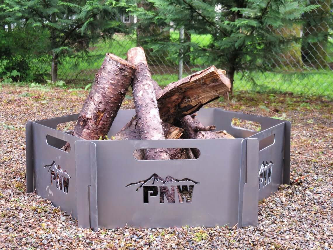 Stackable Custom Travel-Friendly Fire Pit