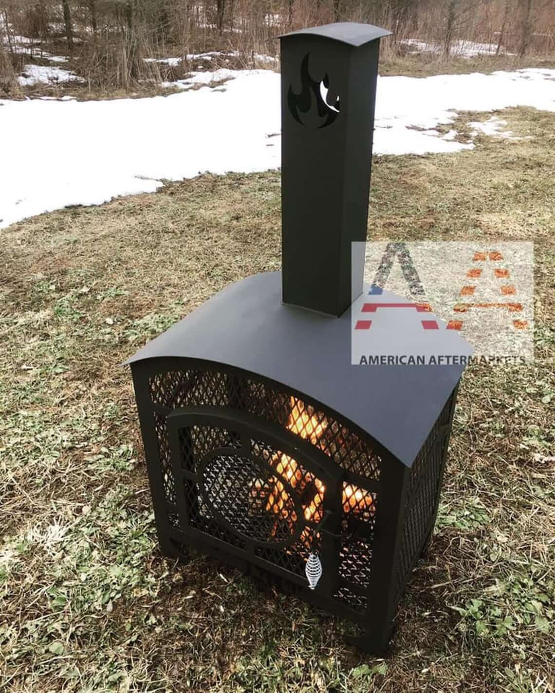 Chiminea Outdoor Fire Place Pit DXF