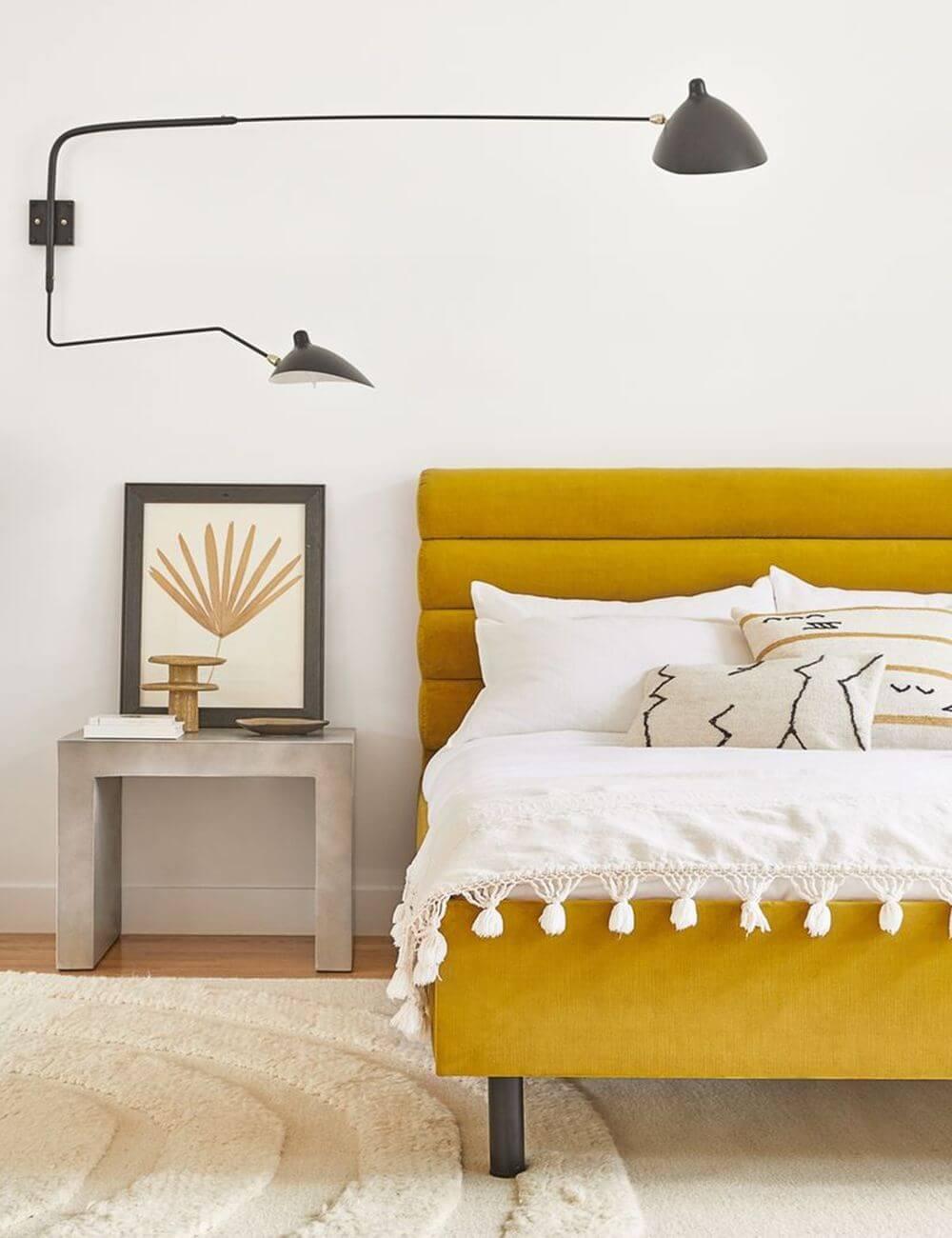 Charming Citronella Art Deco Bed