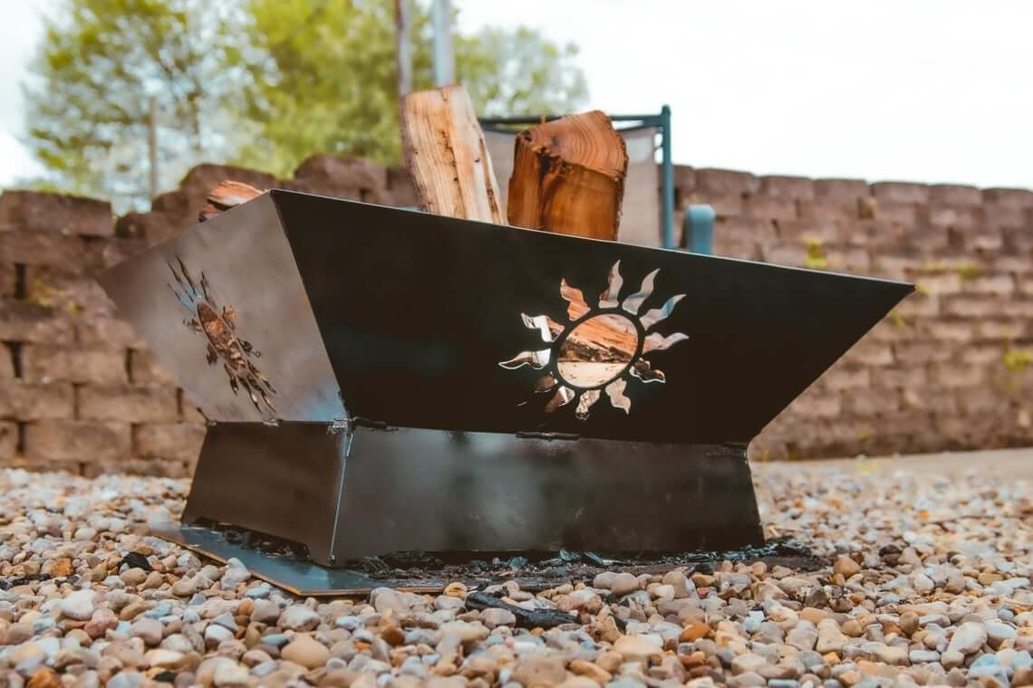 Beautiful Custom Metal Fire Pit