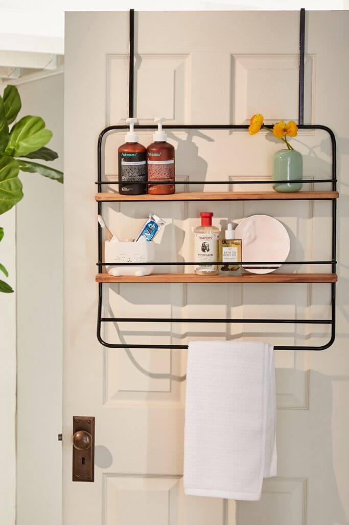 Over the Door Product and Towel Rack