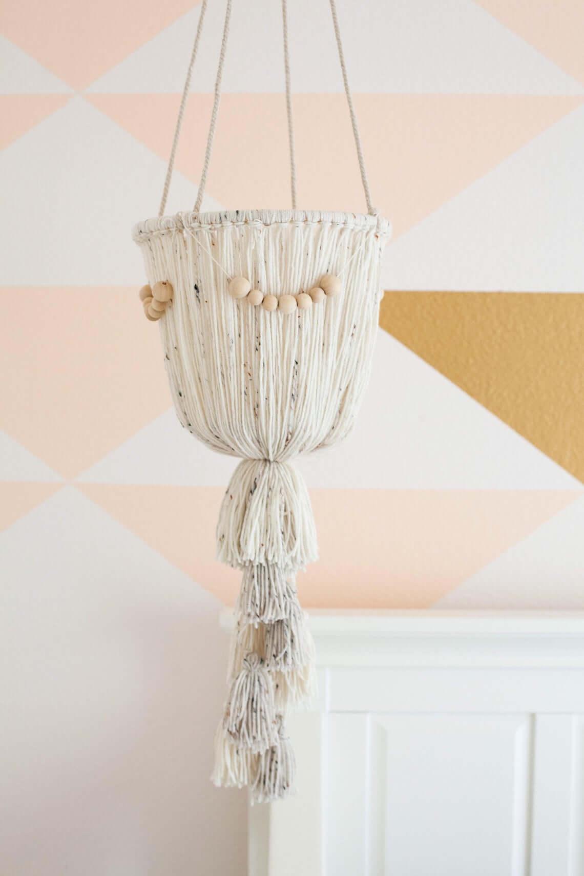 Gorgeous Boho Tassel Hanging Chandelier