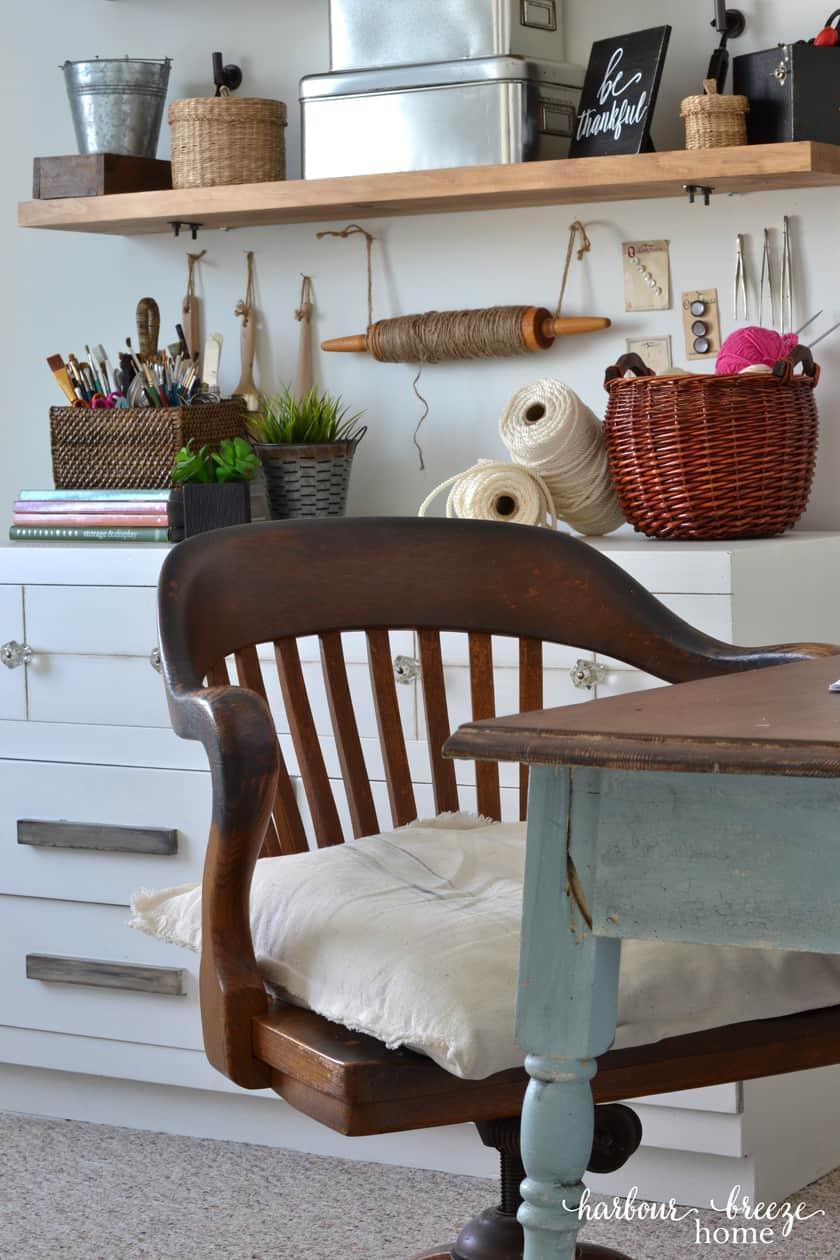 An abundance of Organization for Your Craft Studio