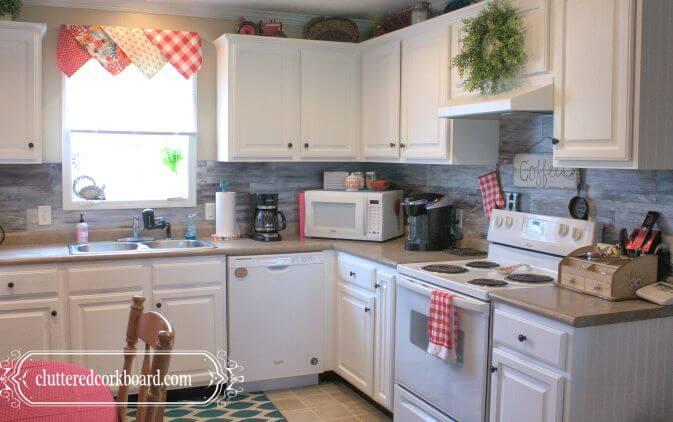 DIY Farmhouse Style Cupboard Makeover