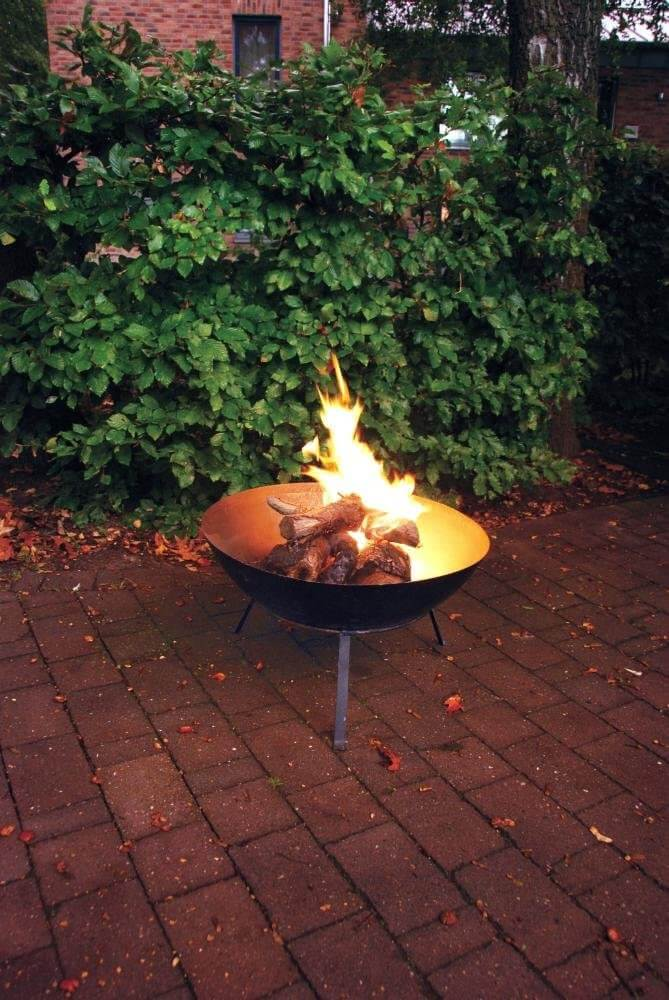 Steel Fire Pit Bowl and Stand