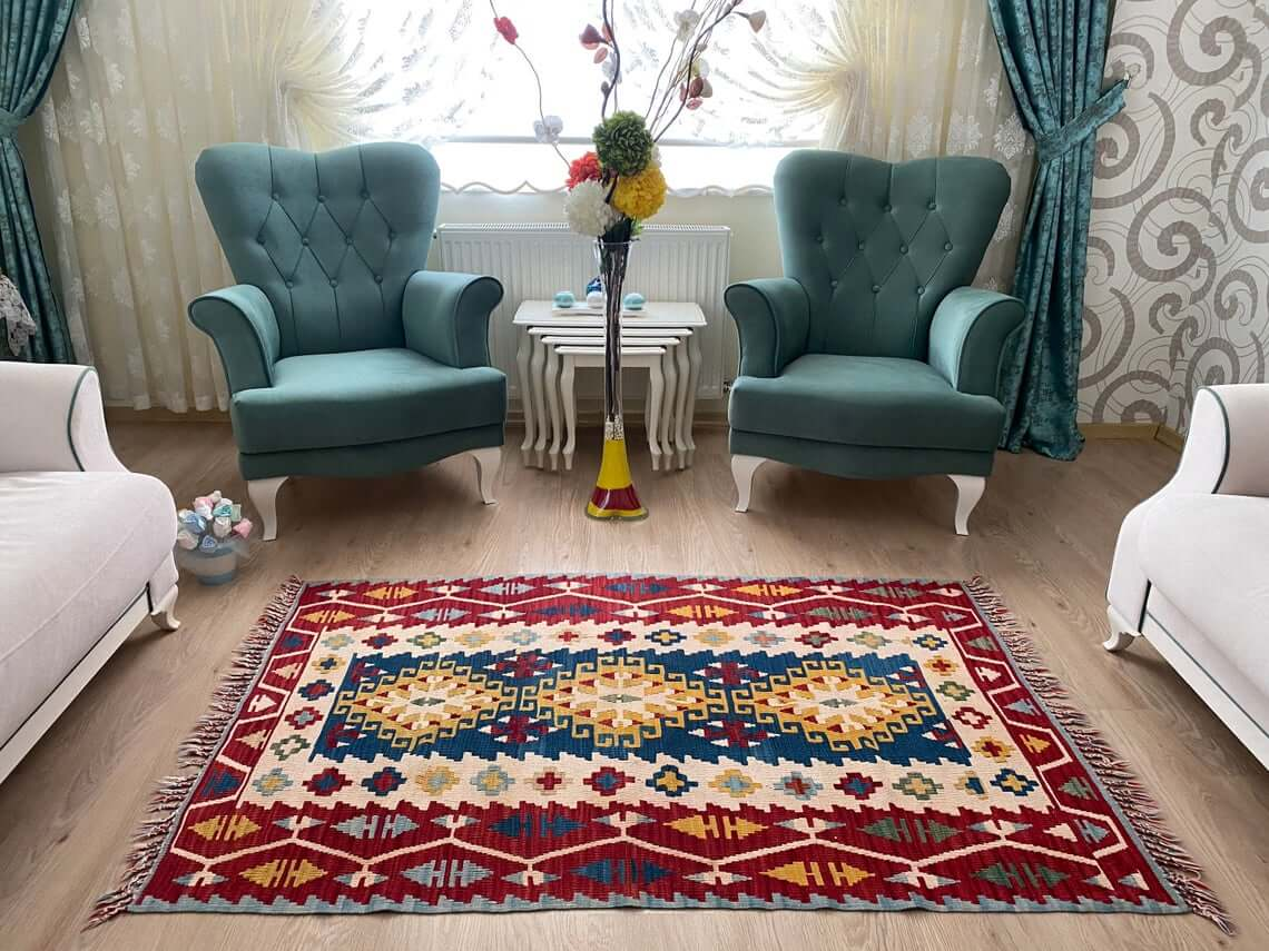 Turkish Rug Rounds Out Room with Style