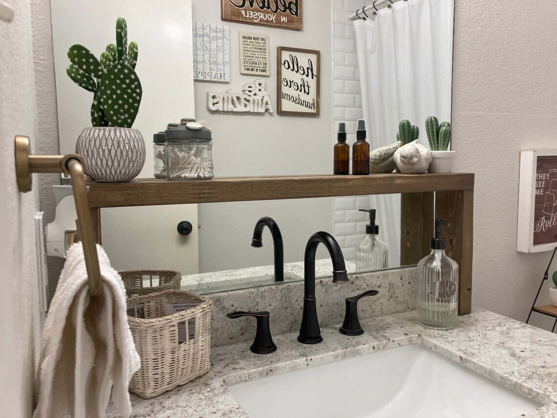 Over the Sink Space Saver Shelf