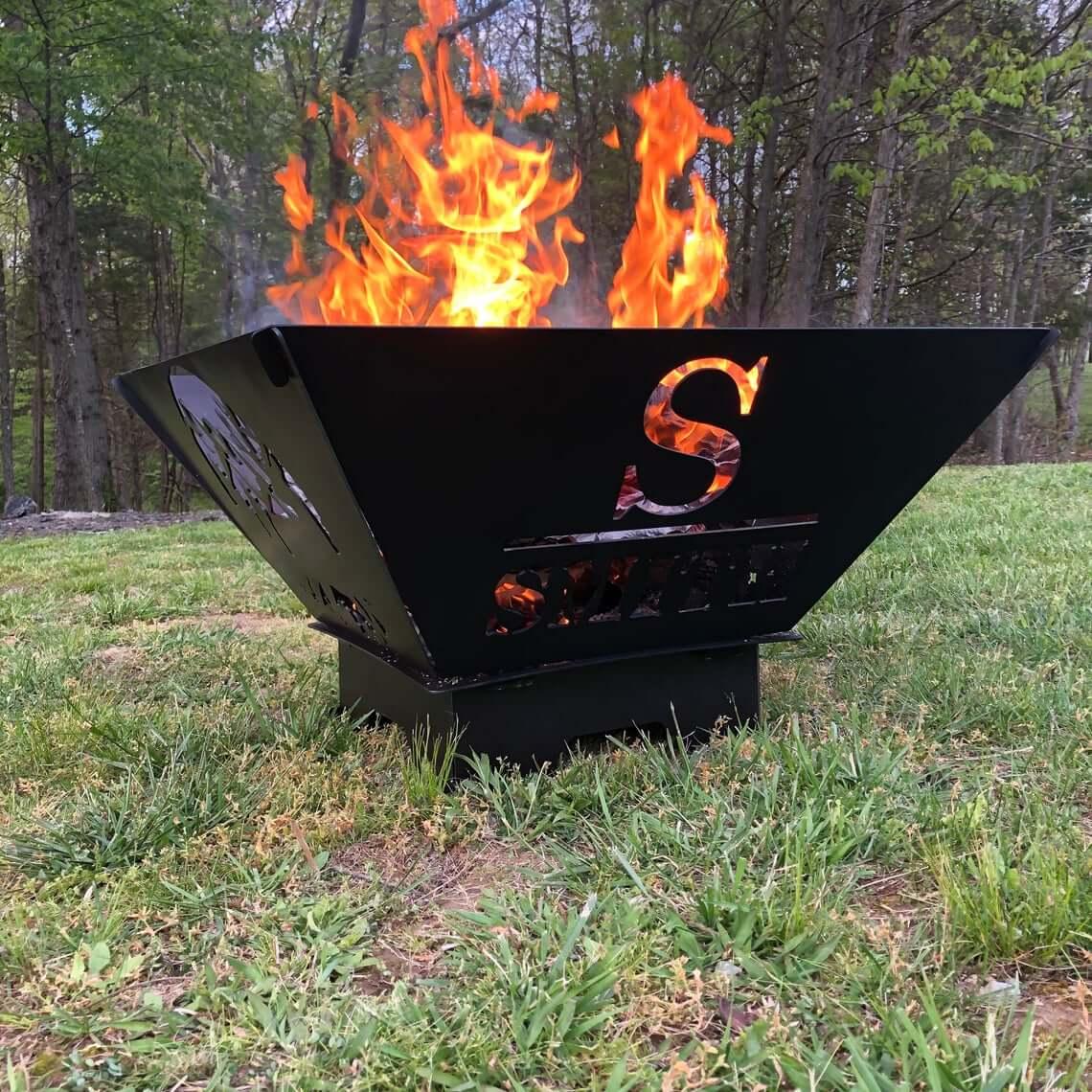 Great Custom Portable Metal Fire Pit