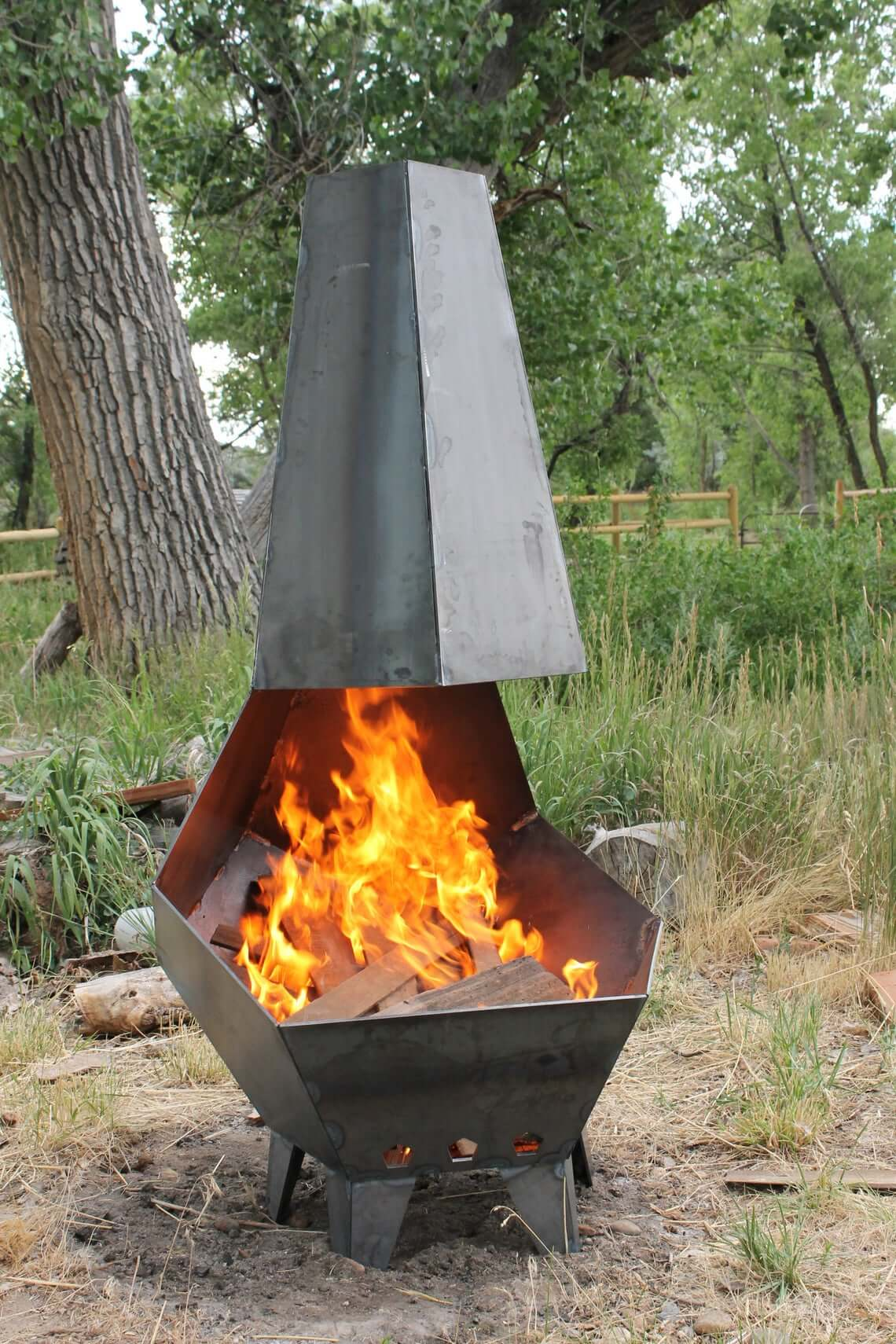 Penta Pit Outdoor Fire Pit