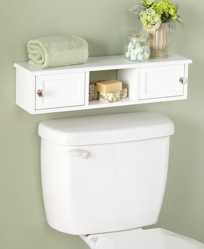 Mini Mounted Over Toilet Cabinet