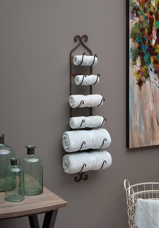 Tree Style Multi Size Towel Organizer