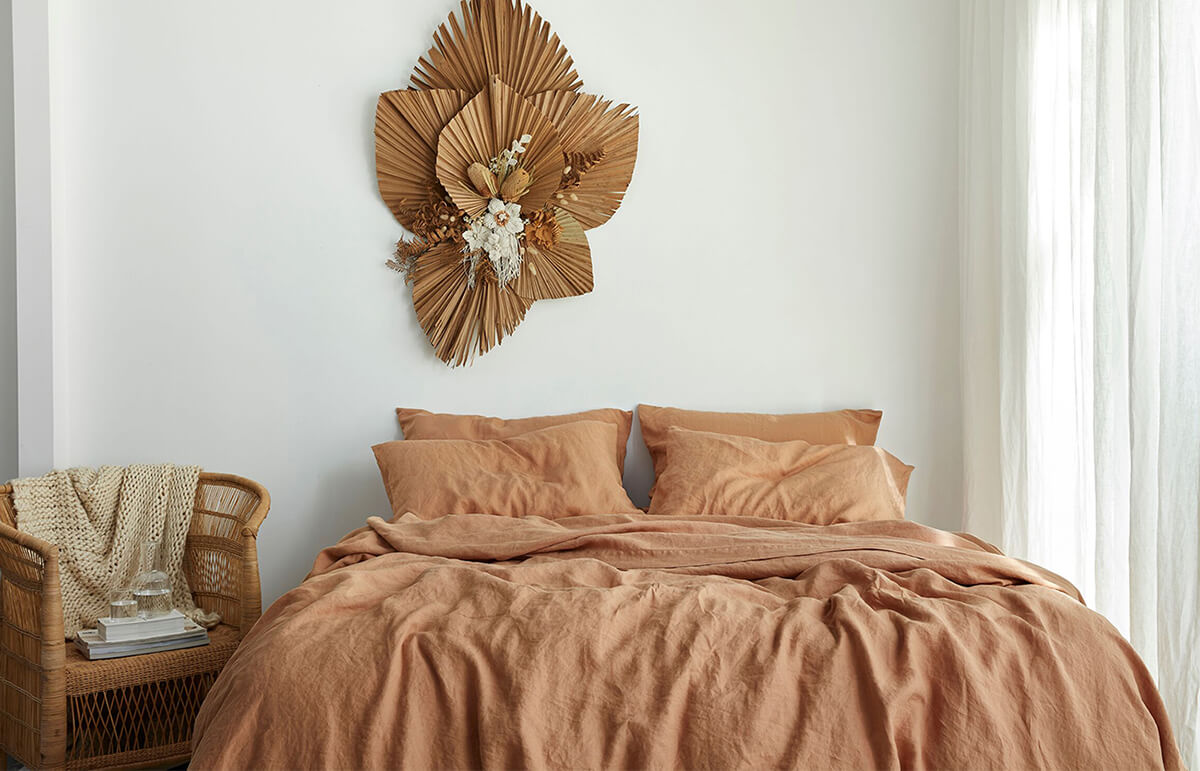 Luxurious Boho French Linen Bedding