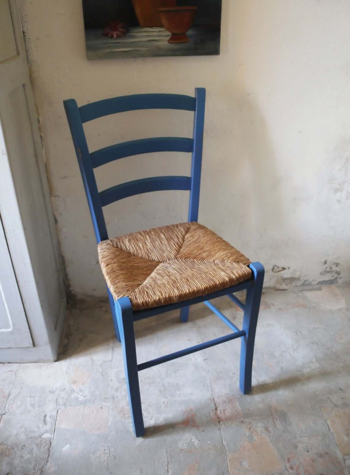 Vintage French Wooden Dining Chair