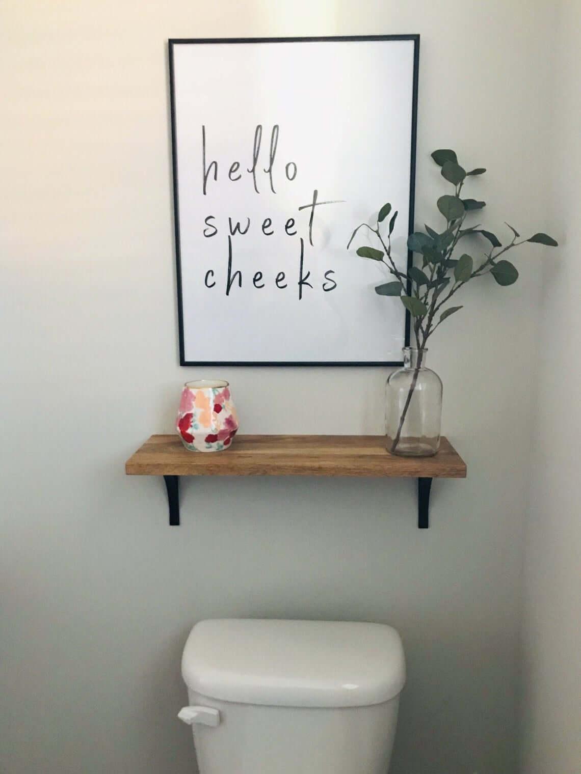 Simply Spunky and Fresh Bathroom Decor