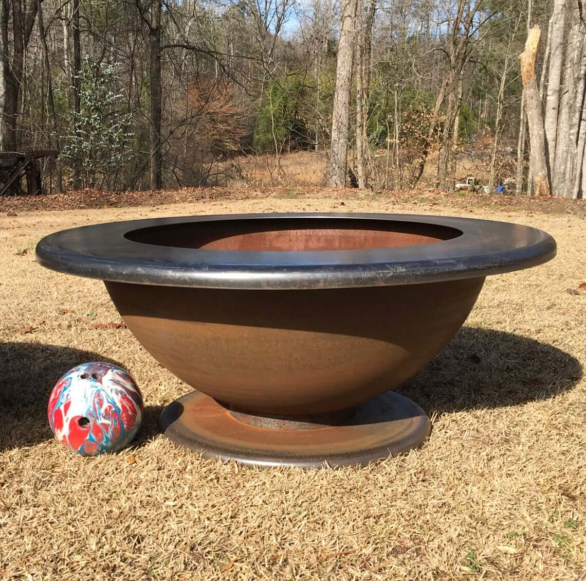 Table Top Rim Fire Pit