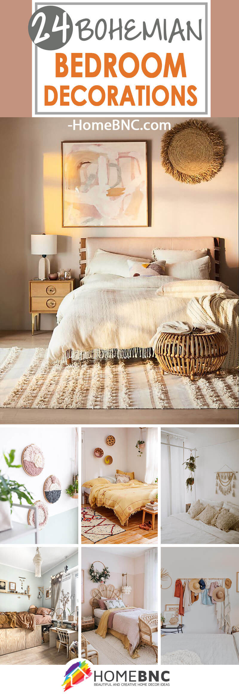 24 Best Bohemian Bedroom Decor Ideas To Spruce Up Your Space In 2020