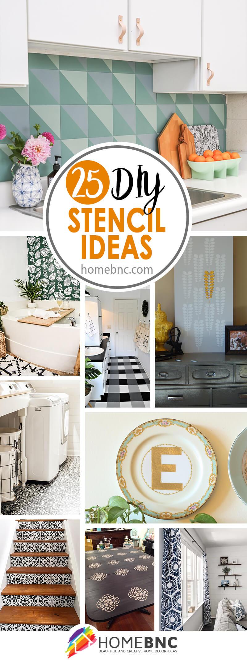 Best DIY Stencil Decor Ideas
