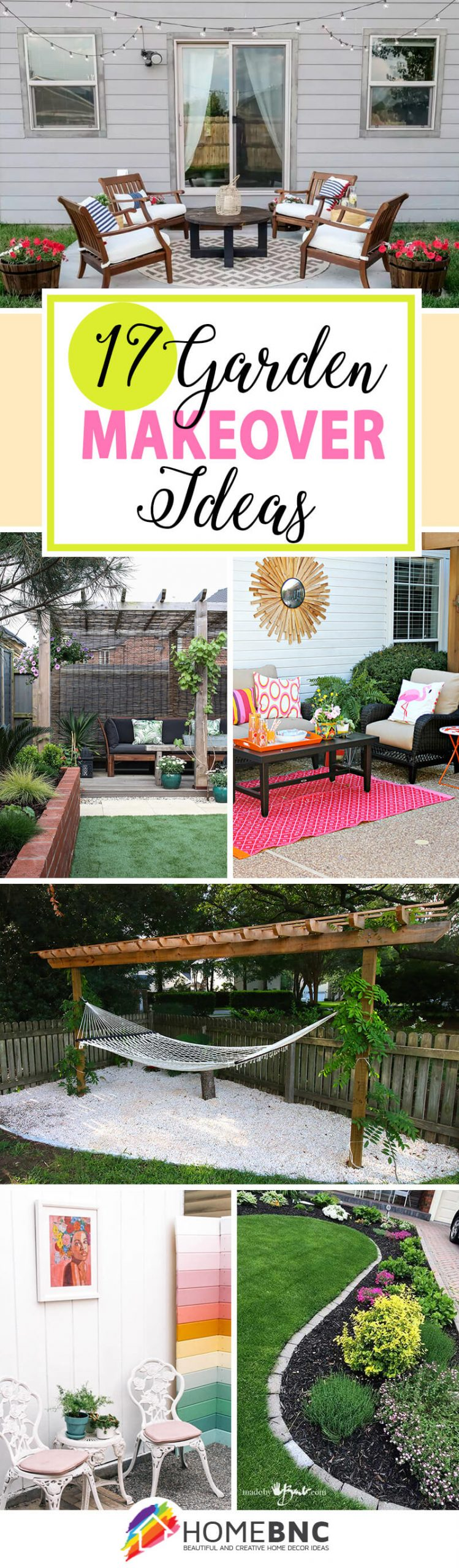 Best Garden Makeover Ideas