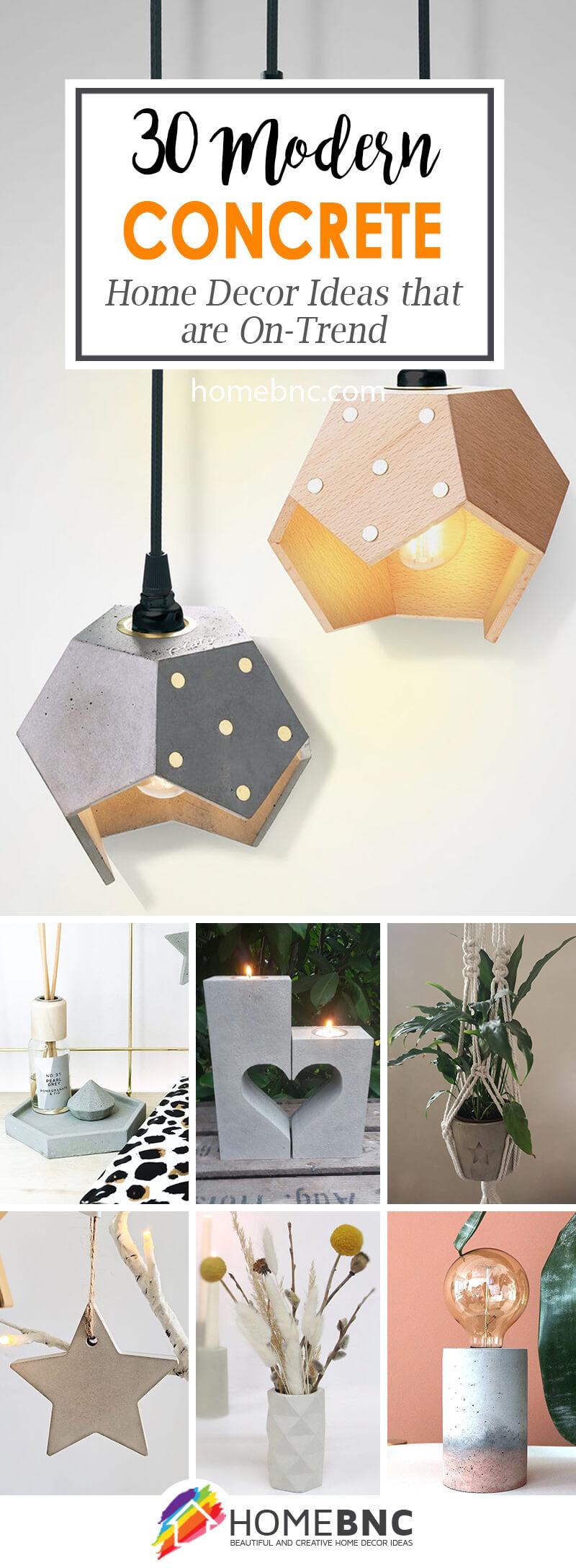 Best Modern Concrete Home Decor Ideas
