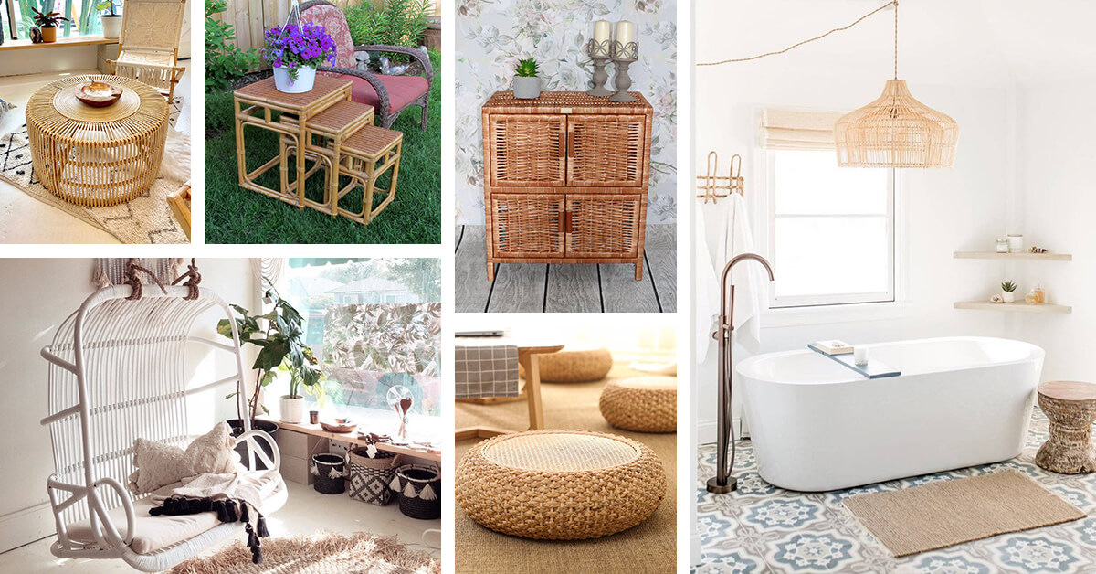 23 Best Rattan Furniture Ideas For Every Space In Your Home In 2020