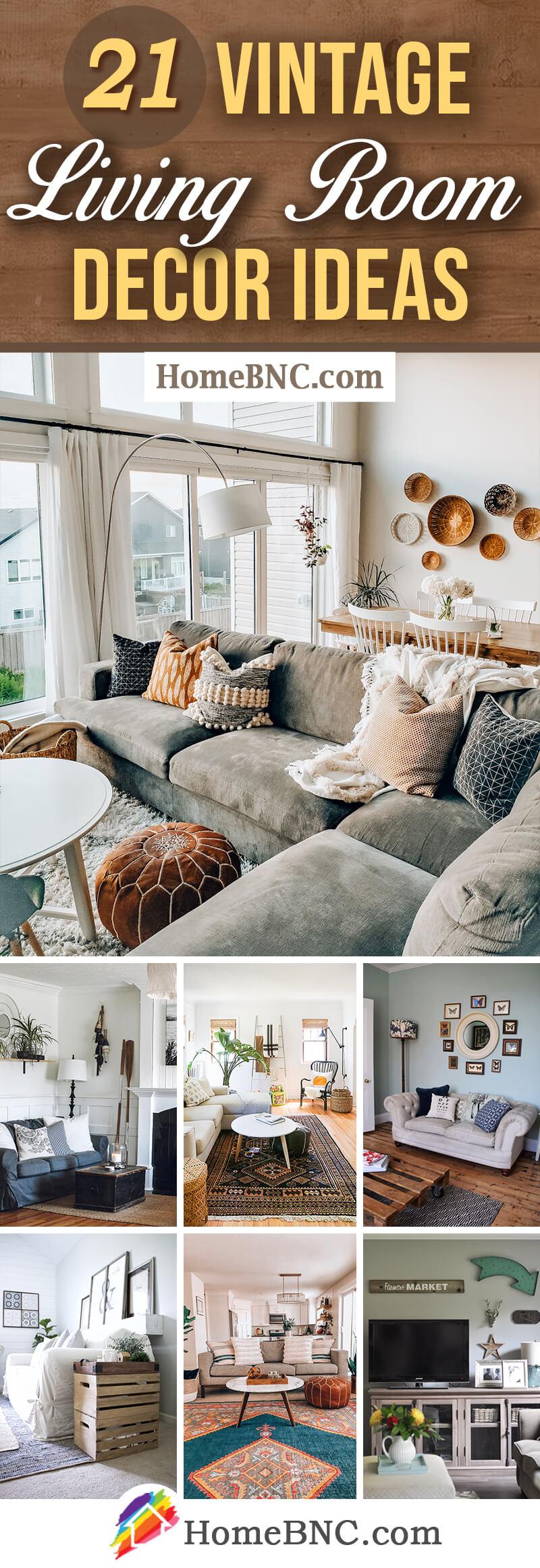 Best Vintage Living Room Decor and Design Ideas