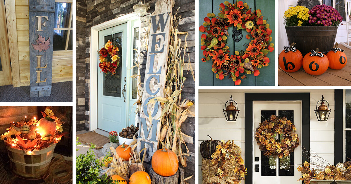 40 Best Fall Porch Decorating Ideas And Designs For 2020