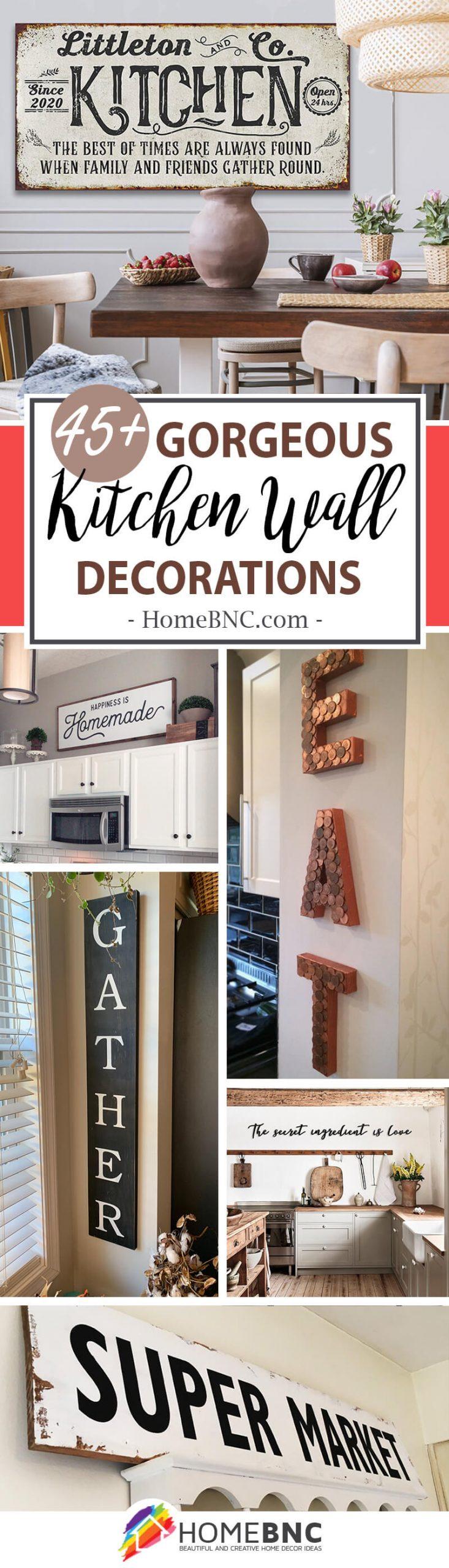 Kitchen Wall Decorations Homebnc