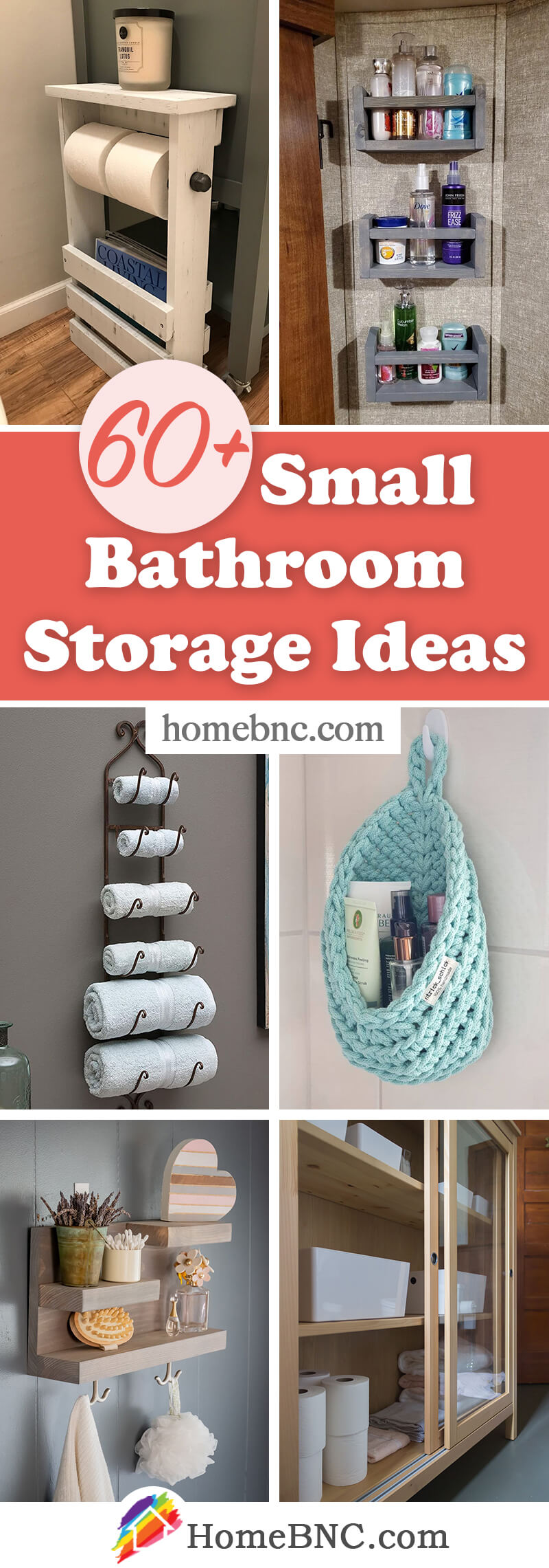 11+ Best Small Bathroom Storage Ideas and Tips for 11