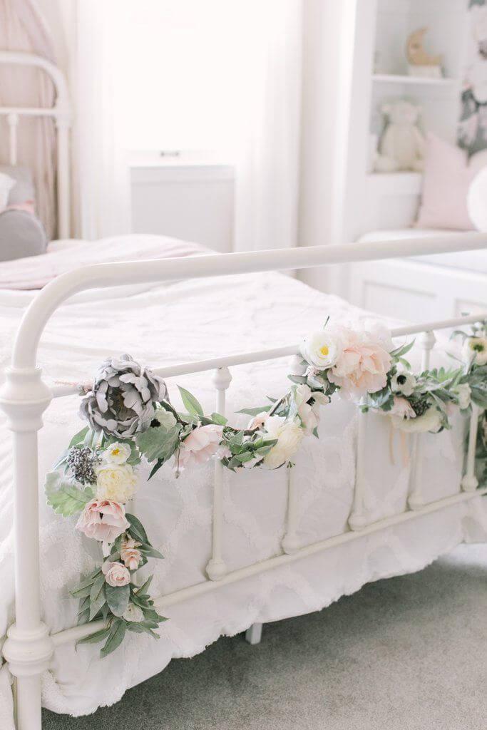 Green and Gray Bountiful Blooms DIY Garland