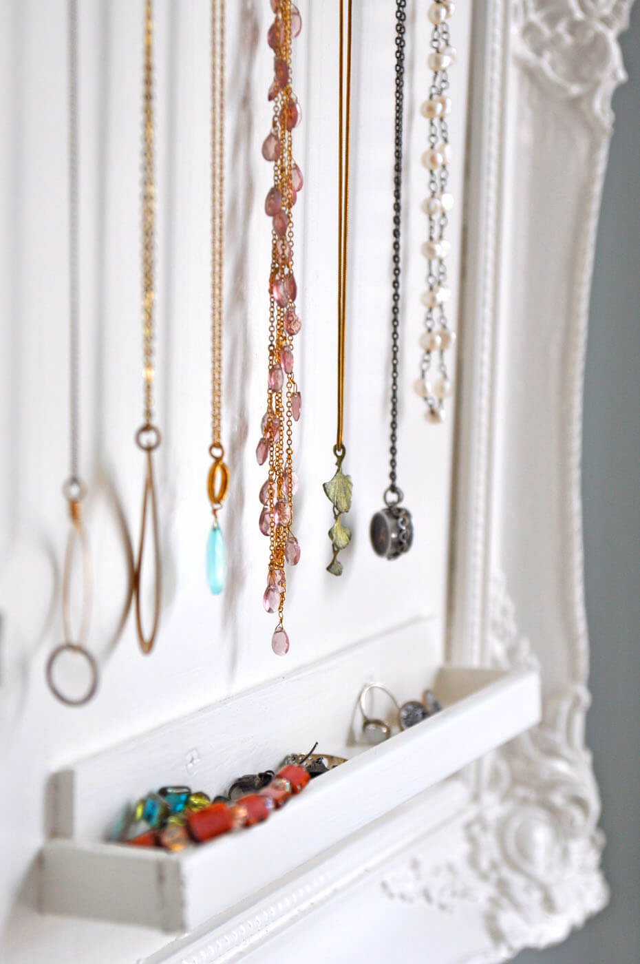 Unique Hanging Faux Jewelry Box