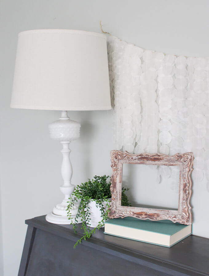 Light and Airy Cascading Circle Garland