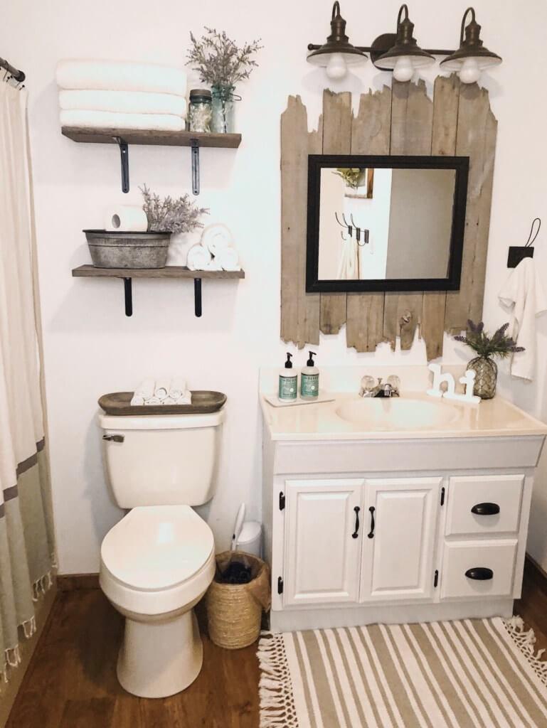 Rustic Bathroom Design And Decor Ideas, Farmhouse Bathroom Decor Ideas