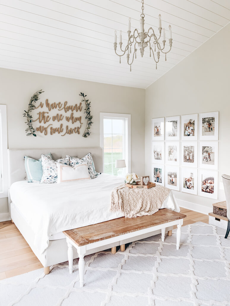 Picture Perfect Soulmate Farmhouse Bedroom