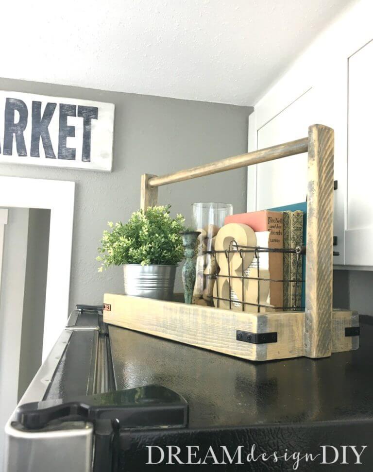 Farmhouse Style Modern Wooden Tray