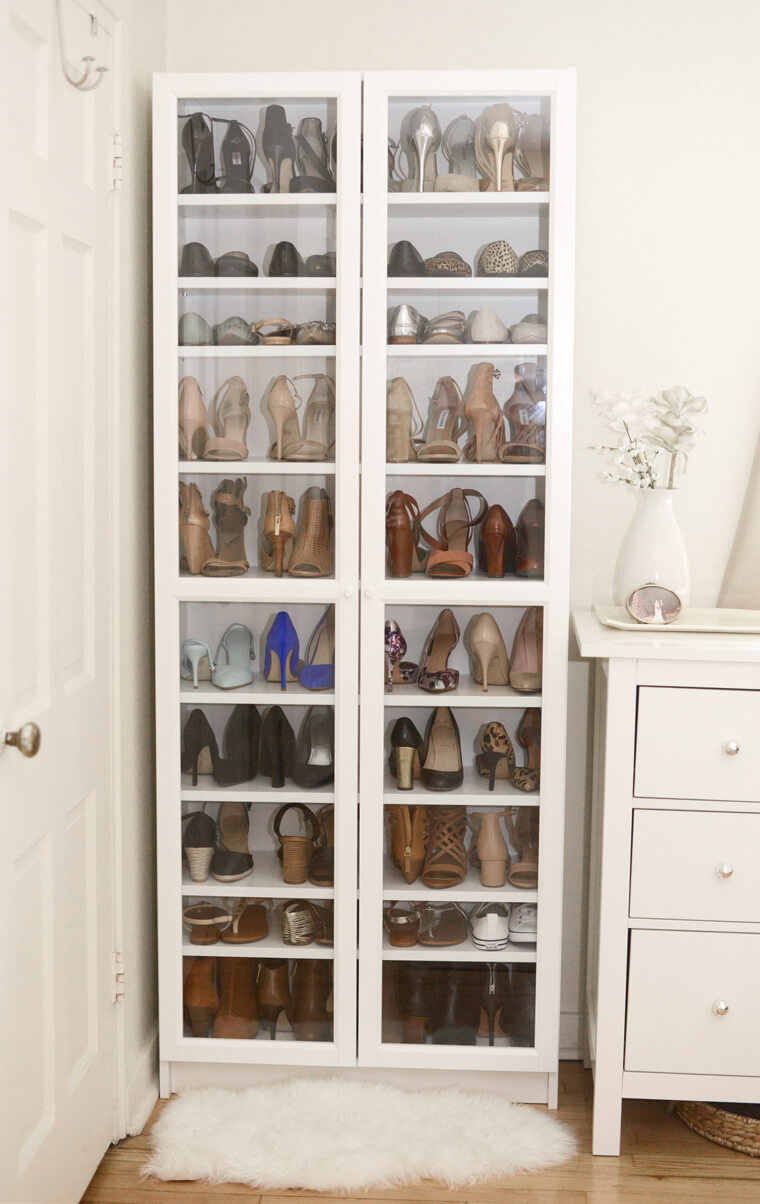 Tall and Beautiful Shoe Display Case
