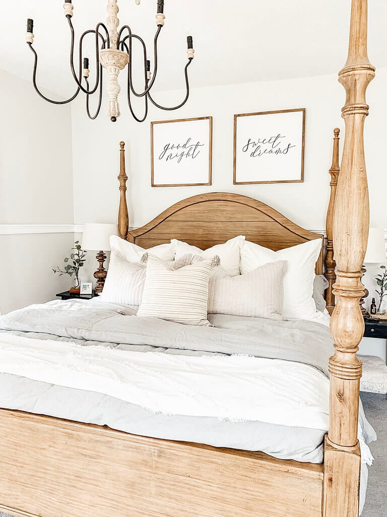 White and Wooden Sweet Dreams
