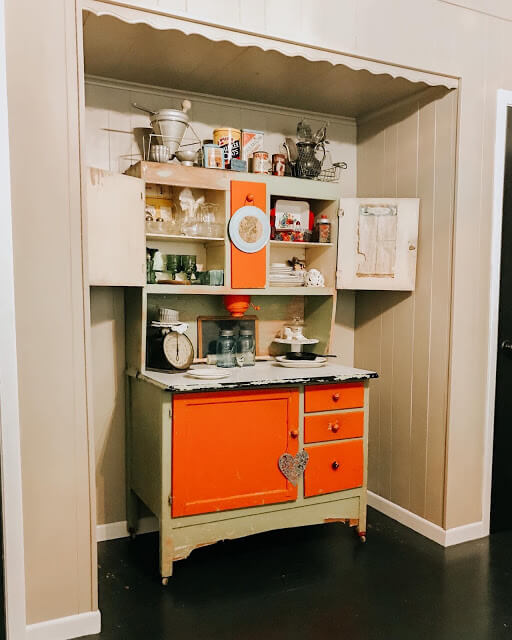 Custom Built Laundry Room Cabinets