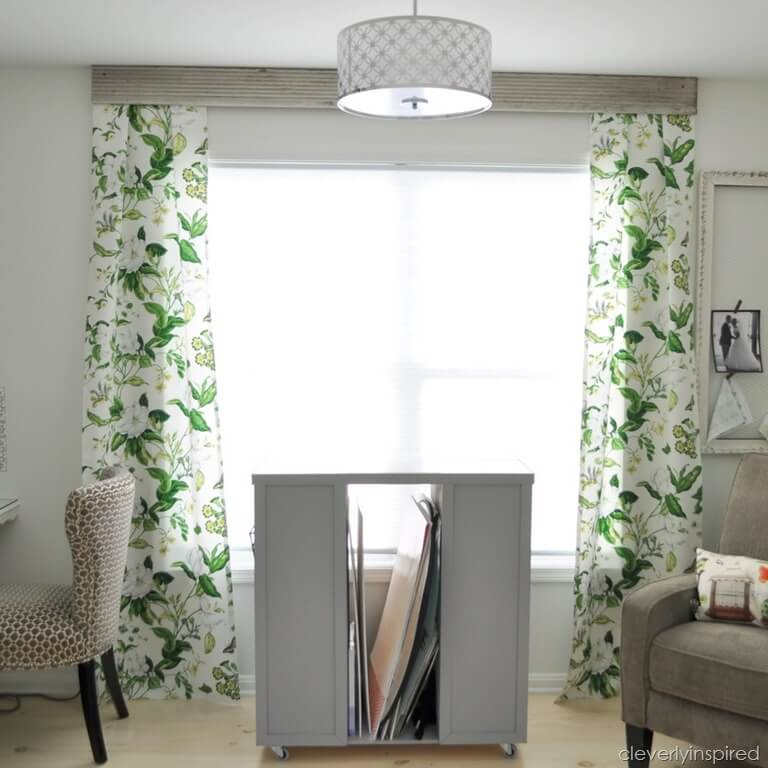 No-Sew Curtain Panels for Large Windows