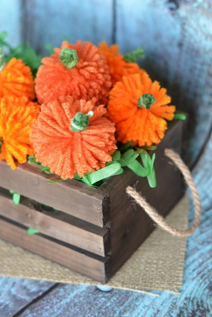 Kid-Friendly DIY Yarn Pumpkin Craft