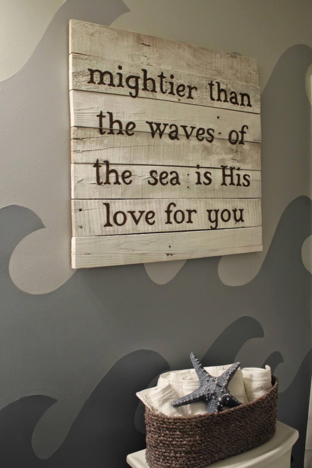God of Wonders Wave Wall