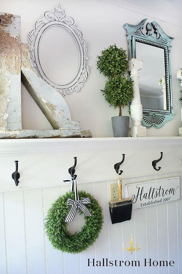 Crown Molding Ledge Decorative Entryway