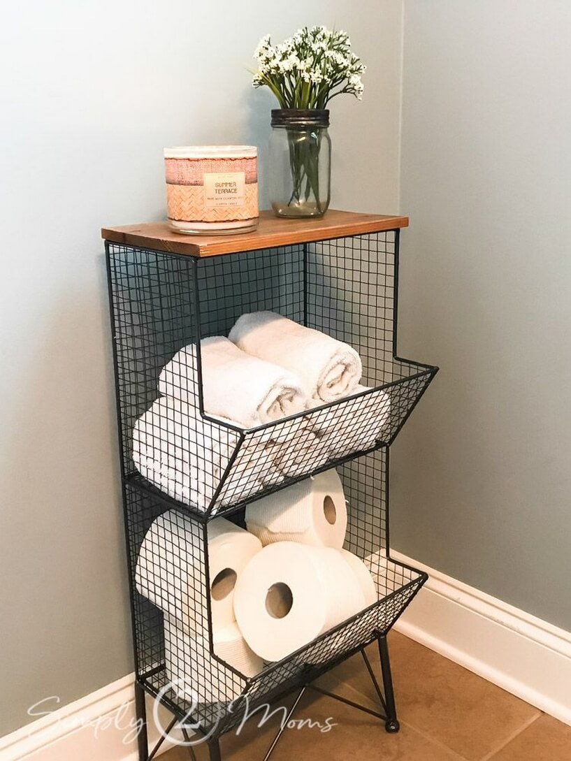Wired for Organizing Your Bathroom Goodies