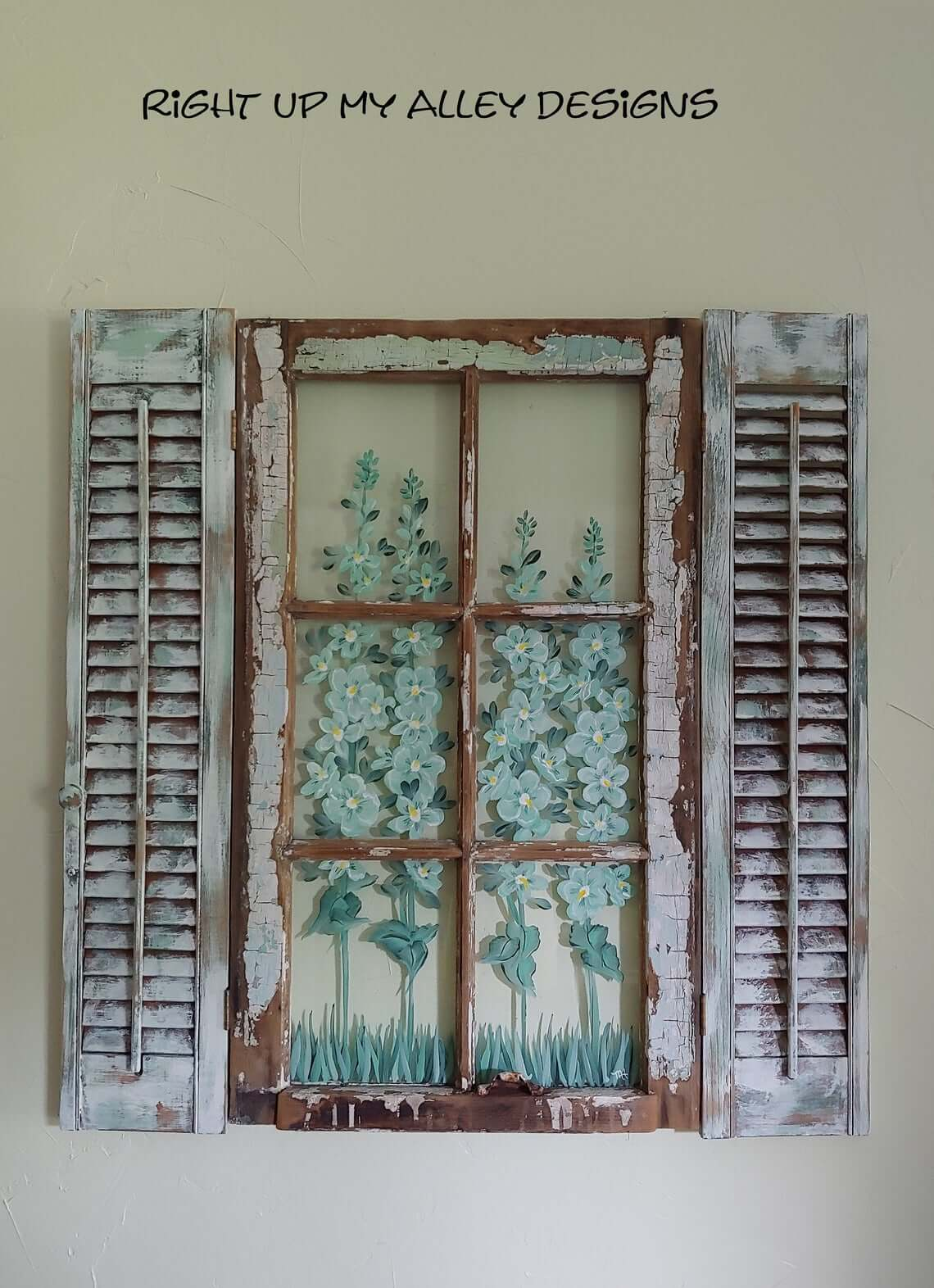 Old-Timey Multi-Media Shutters