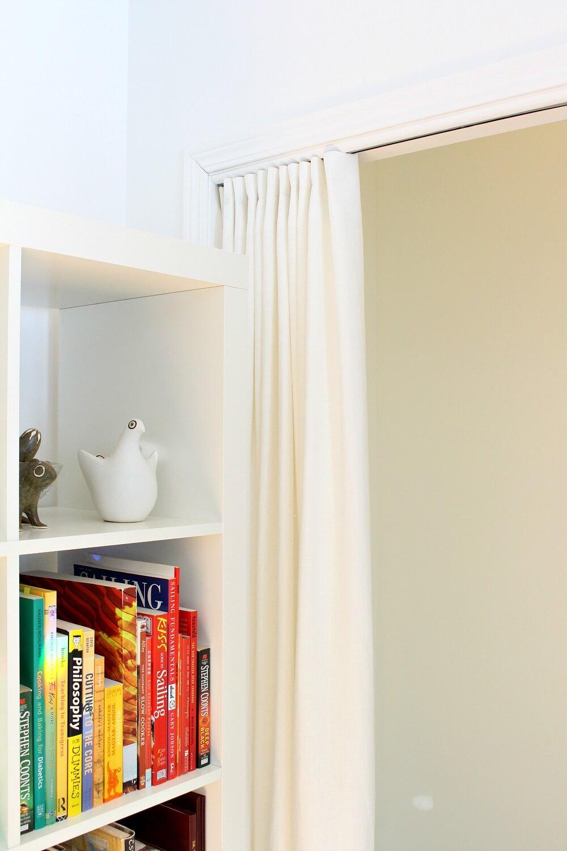 Curtains to Hide a Bi-Fold Track