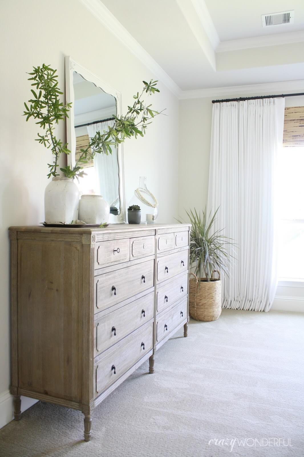 Light, Airy, and Purified Air Farmhouse Bedroom