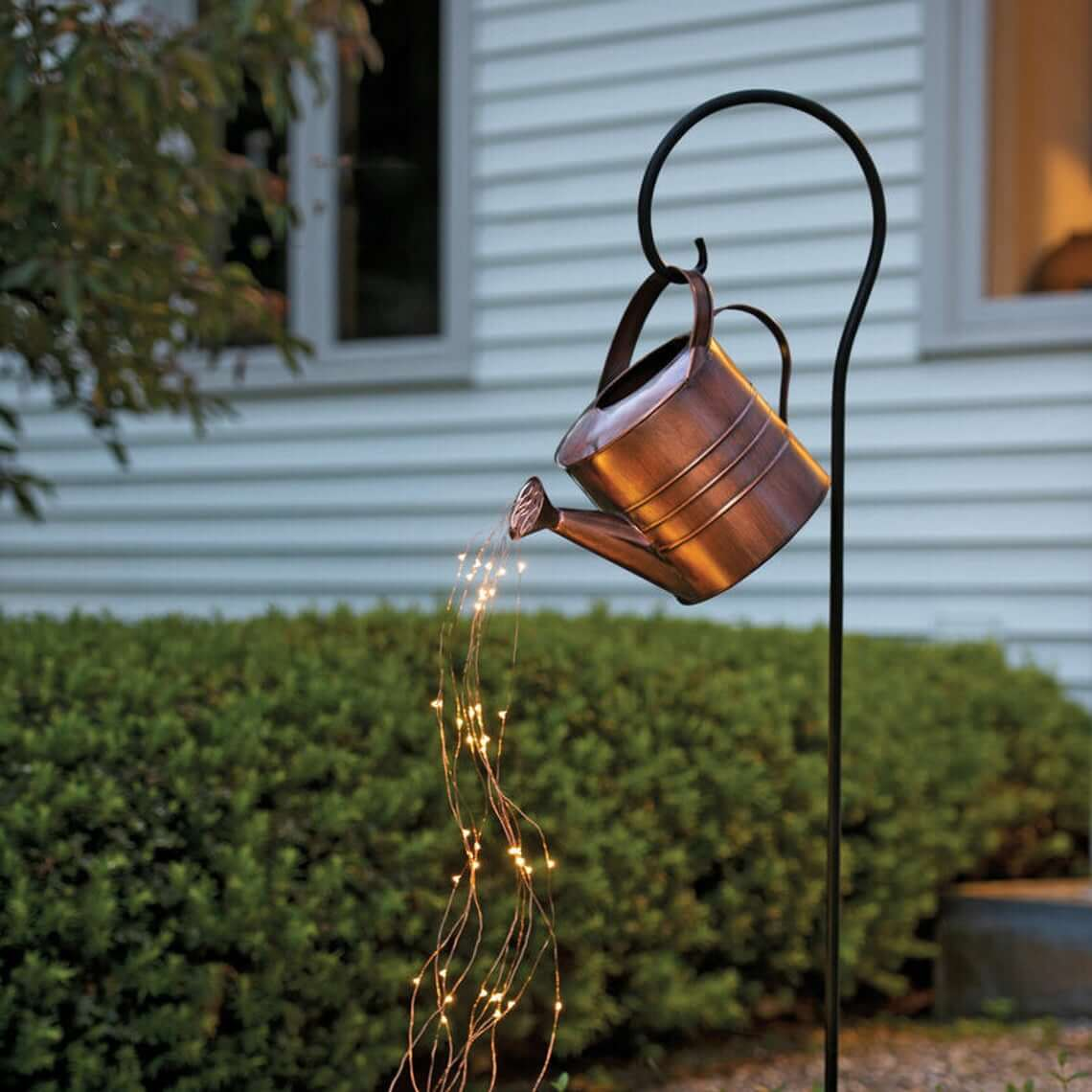 Light Up the Night Copper Watering Can