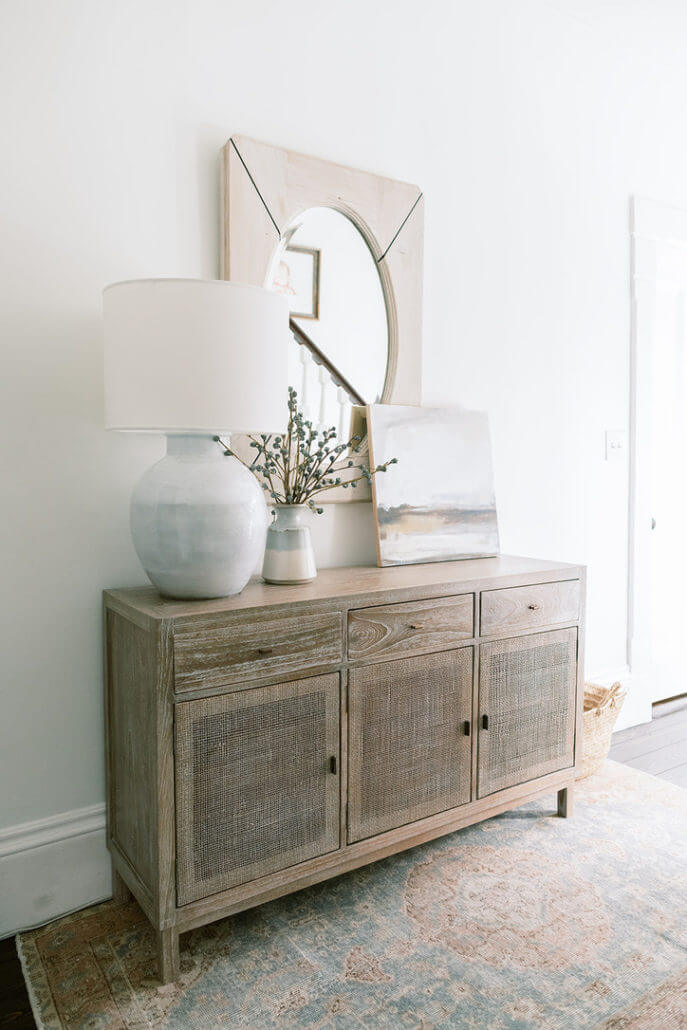Totally Taupe Modern and Contemporary Entryway
