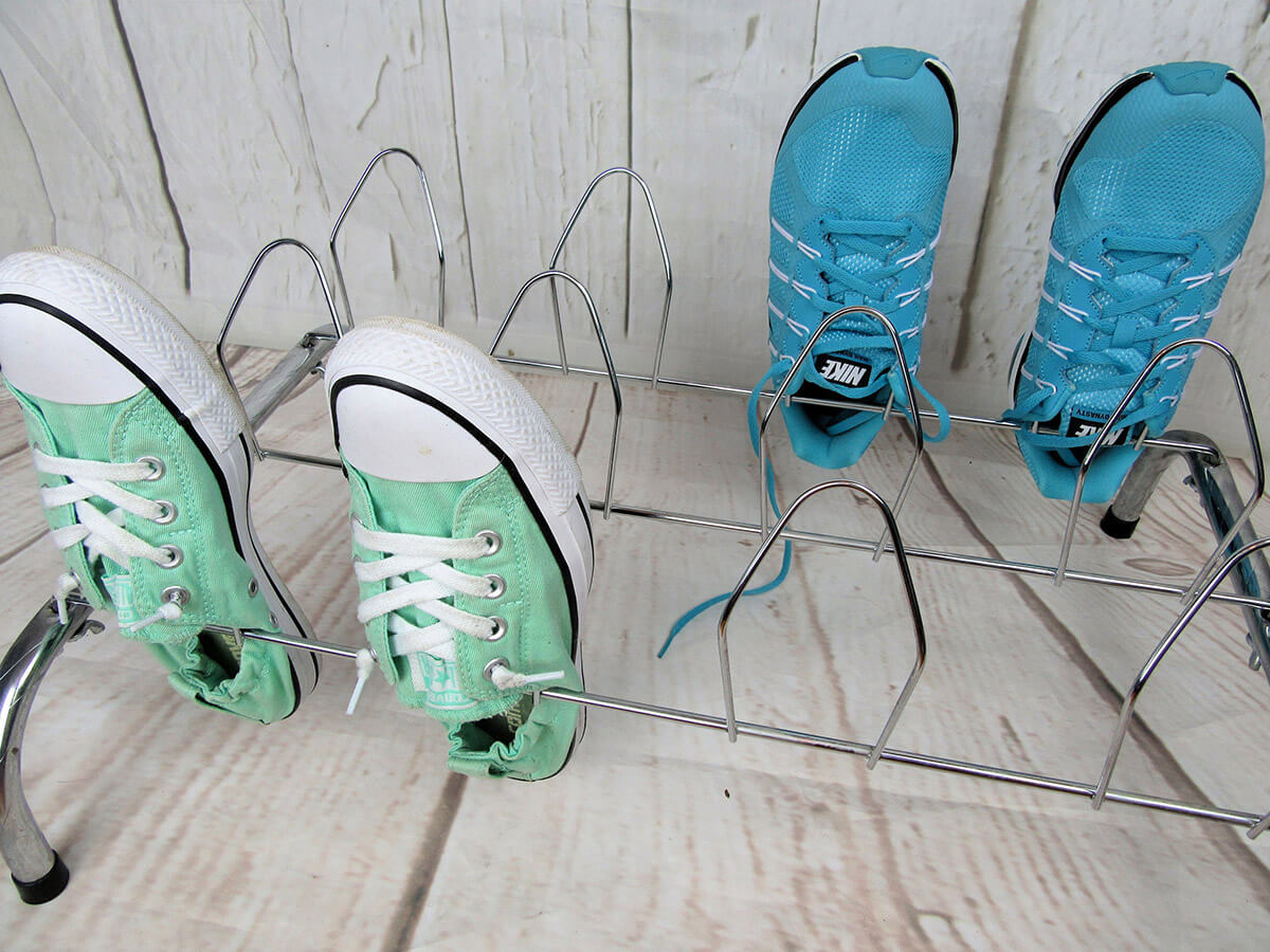 Wire Stand-Up Individual Shoe Holders
