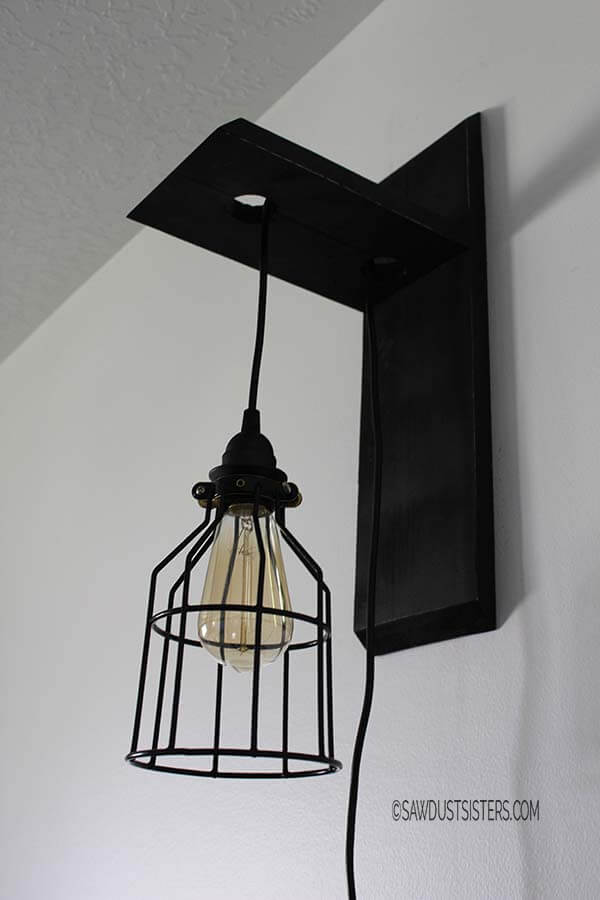 Farmhouse Lantern with Edison Bulb